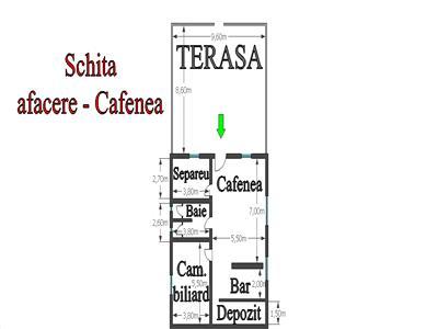 Casa de locuit cu teren aferent si afacere
