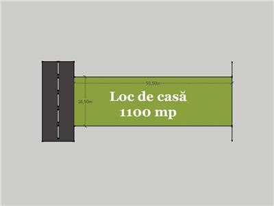 Loc de casa 1100 mp la 12 �/mp